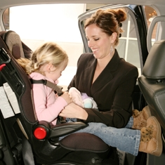 Tuesday's Tip: The car seat and the toddler