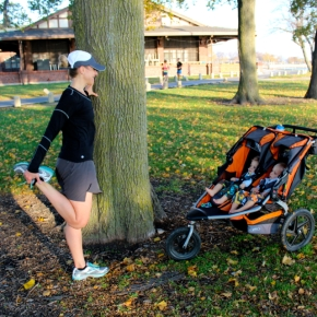 4 Stretches for the Running Momma